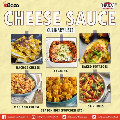 HEXA HALAL Cheese Sauce Premix Powder 200gm
