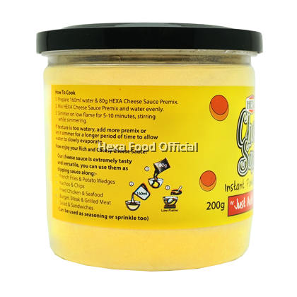HEXA Cheese Sauce Premix Powder 200g