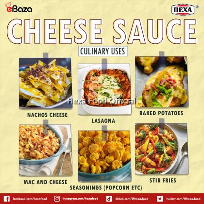 HEXAHALAL Jalapeno Cheese Sauce Premix Powder 200gm
