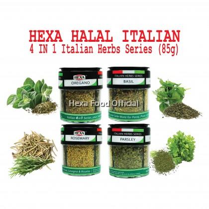 HEXA HALAL 4IN1 American 85gm + British 85gm + Italian 24gm Bottles*3 + Free Gift