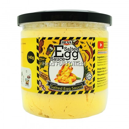 HEXA Cajun Spice 85g + Salted Egg Sauce Premix 140g