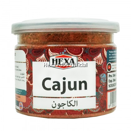 HEXA Cajun Spice 85g + 4in1 Italian Herbs (Basil+ Oregano+Rosemary+Parsley) 24g