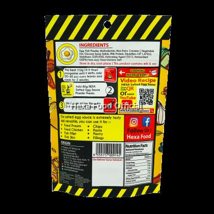 HEXA Salted Egg Sauce Powder Premix 80g