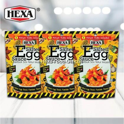 HEXA Salted Egg Sauce Powder Premix 80gm*3 + Free Gift