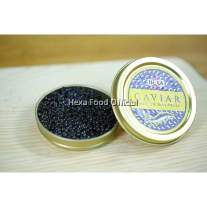 HEXA Malaysian Fresh Caviar Siberian Kaluga Hybrid 30gm
