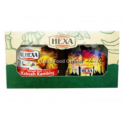 HEXA Gift Set (Kabsah Spice 150g+Tamrah Chocolate Dates 100g)