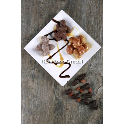 HEXA Gift Set (Salted Egg Powder Premix 140g+Tamrah Chocolate Dates 100g)