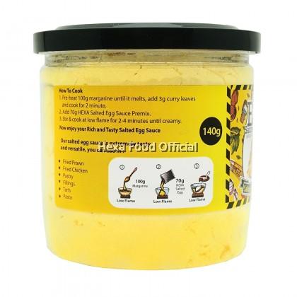 HEXA Salted Egg Sauce Powder Premix 140gm*12
