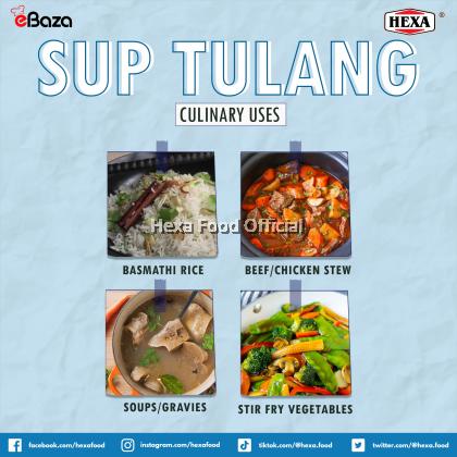 HEXA HALAL Sup Tulang Premix 200gm (Signature Series by Dapaq Pdot)