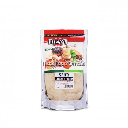 HEXA HALAL Super Crispy Spicy Fried Chicken Powder 500gm