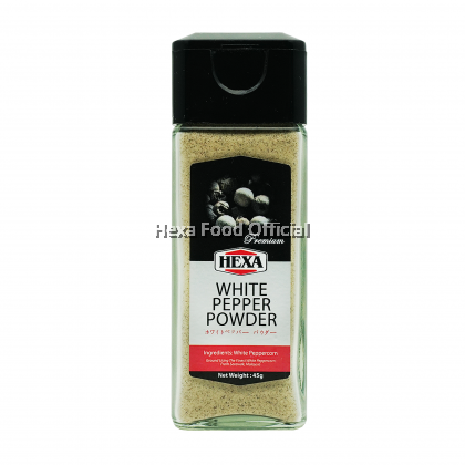 HEXA HALAL Sarawak White & Black Pepper (3 Jars) [Free Gift]